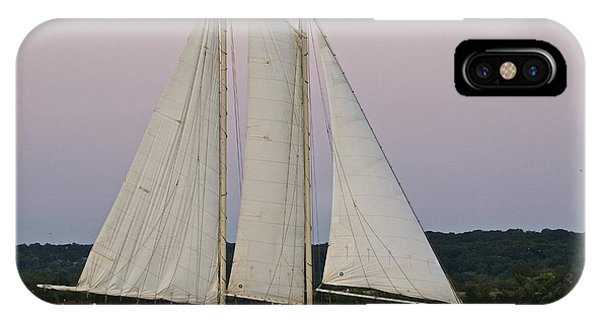 Sailing On The Potomac IPhone Case