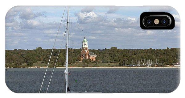 Sailing Past Netley IPhone Case
