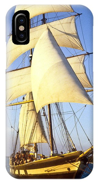 Sailing Ship Carribean IPhone Case