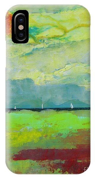 Sailing Thru Color IPhone Case