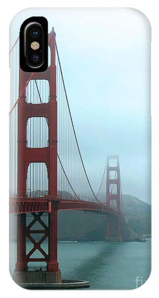 Sailing Under The Golden Gate Bridge IPhone Case