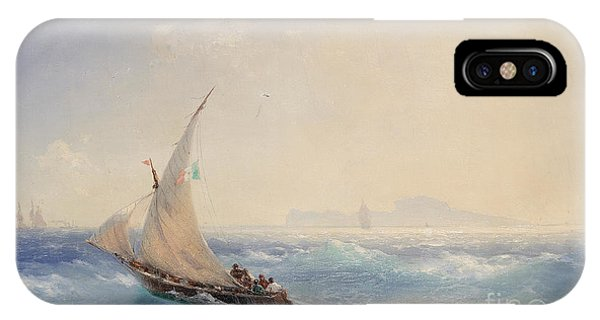iPhone Case - Shipping Off The Island Of Ischia by Viktor Birkus