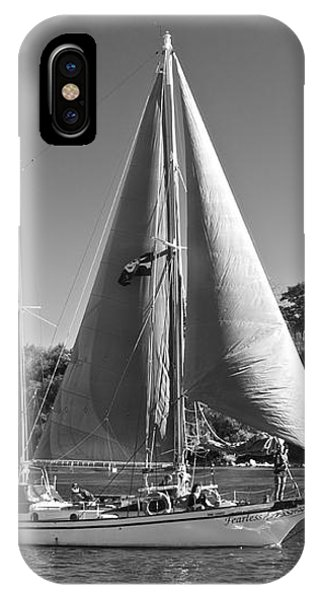 The Fearless On Lake Taupo IPhone Case