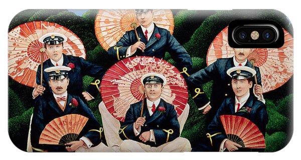 Sailors With Umbrellas IPhone Case