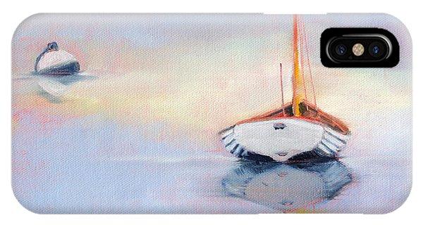 Sails Down - Evening Stillness IPhone Case