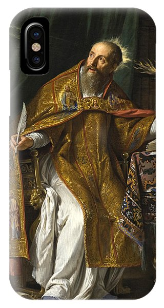 Saint Augustine IPhone Case