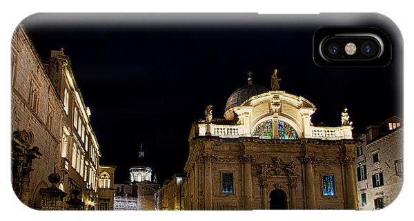 Saint Blaise Church - Dubrovnik IPhone Case