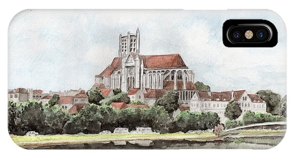 Saint-etienne A Auxerre IPhone Case
