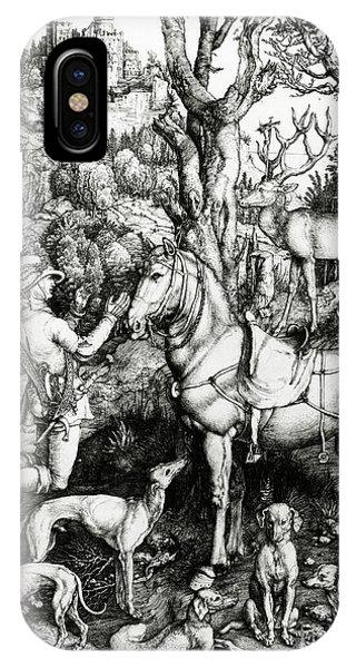 Albrecht Durer iPhone Case - Saint Eustace by Albrecht Durer or Duerer