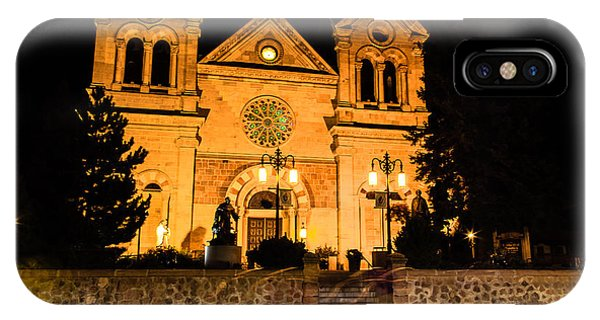 Saint Francis Cathedral IPhone Case