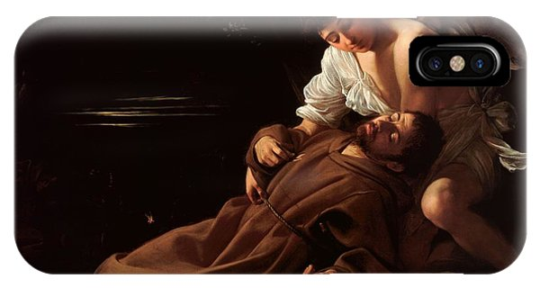 Saint Francis Of Assisi In Ecstasy 2 IPhone Case