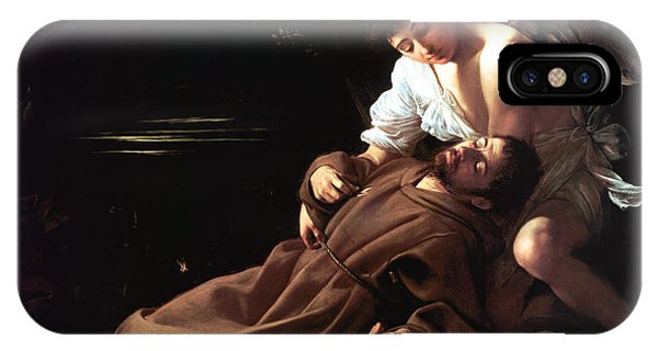 Saint Francis Of Assisi In Ecstasy IPhone Case