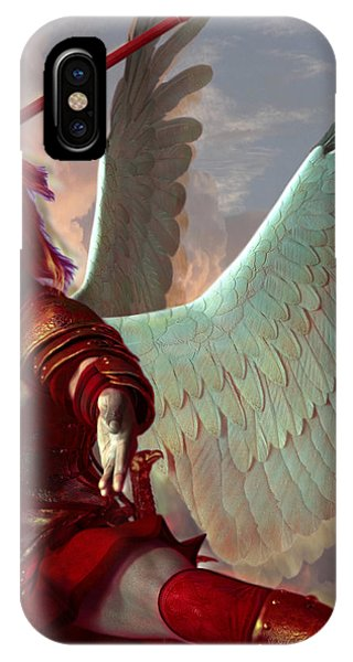 Saint Gabriel The Archangel IPhone Case