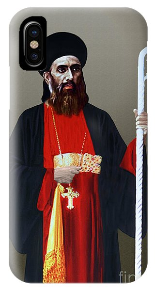 Saint Gregorios Of Parumala IPhone Case