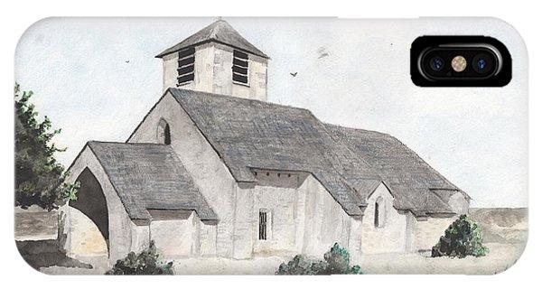 Saint-jean-baptiste A Chassignelles IPhone Case