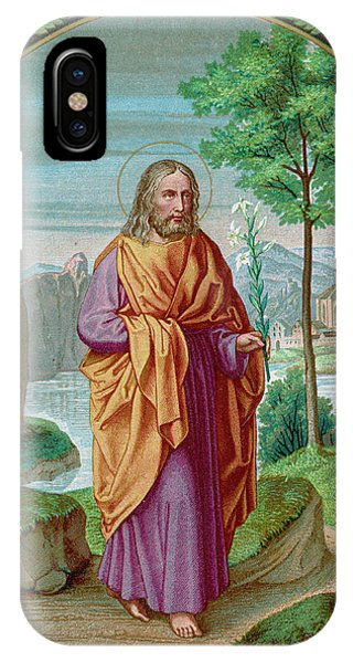 Saint Joseph Husband Of Mary, And Phone Case by Mary Evans Picture Library