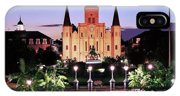 Saint Louis Cathedral New Orleans IPhone Case