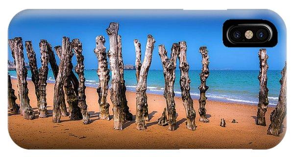 Saint Malo Beach Phone Case by Martin Velebil