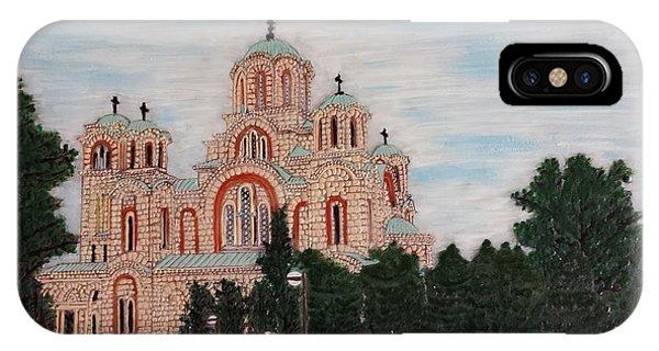Saint Marko Church  Belgrade  Serbia  IPhone Case