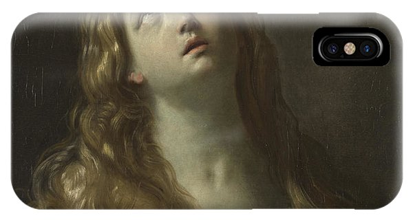 Mary Mother Of God iPhone Case - Saint Mary Magdalene by Guido Reni
