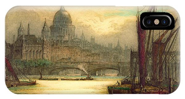 Saint Paul's Cathedral 1902 Phone Case by Padre Art