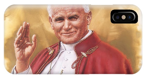 Saint Pope John Paul II IPhone Case
