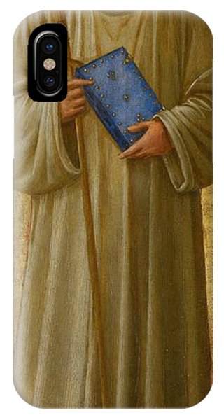 Staff iPhone Case - Saint Romuald by Fra Angelico