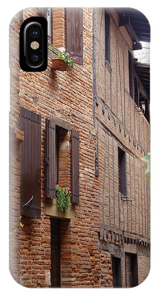 Saint-salvi Backstreet In Albi France IPhone Case