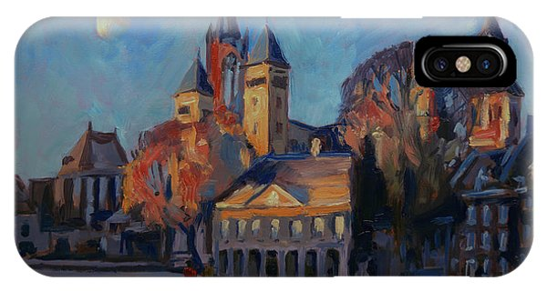 Saint Servaas Basilica In The Morning IPhone Case