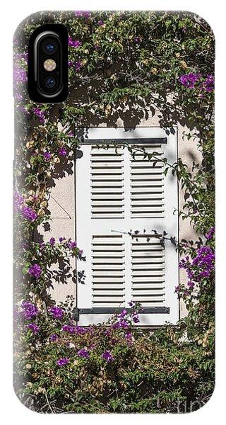 Tropes iPhone Case - Saint Tropez Window by John Greim