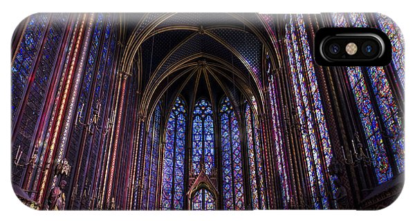 Sainte Chapelle IPhone Case