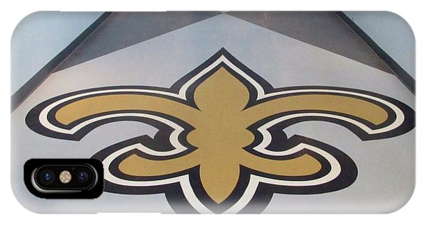 Saints Are Coming - Benson Towers - New Orleans La IPhone Case