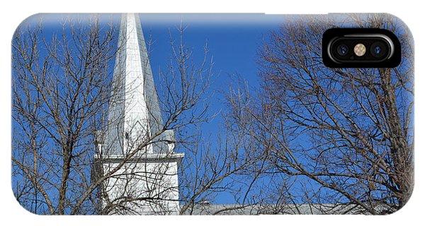 Salem Church Steeple IPhone Case