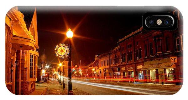 Salem Ohio Christmas IPhone Case