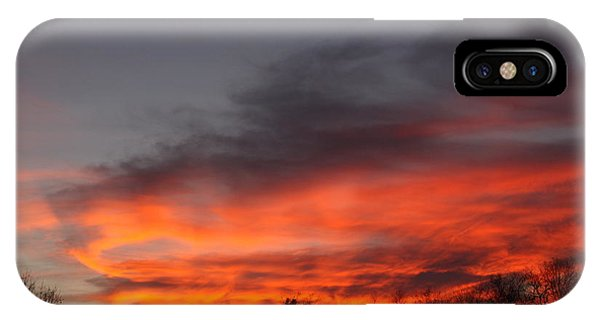 Salem Sunset IPhone Case