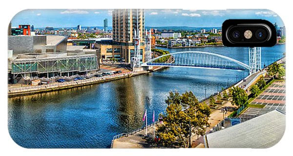 Salford Quays IPhone Case