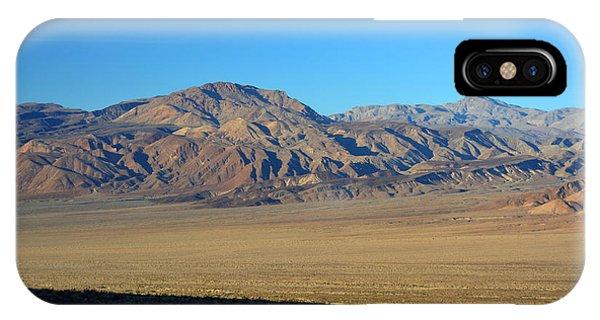 Saline Valley Sunset November 17 2014 IPhone Case