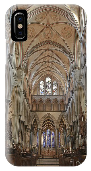 Salisbury Cathedral Quire And High Altar IPhone Case