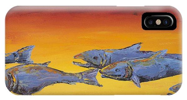 Salmon Sunrise IPhone Case