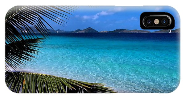 Inspirational iPhone Case - Saloman Beach - St. John by Stephen  Vecchiotti