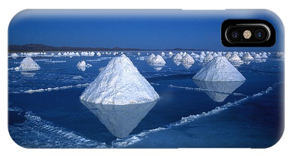 Salt Cones At Nightfall IPhone Case