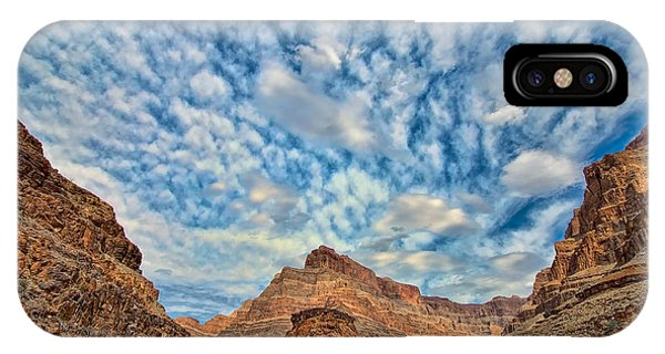 Salt Creek Clouds IPhone Case