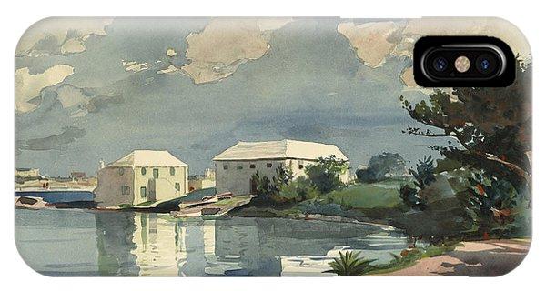 Homer iPhone Case - Salt Kettle Bermuda by Winslow Homer