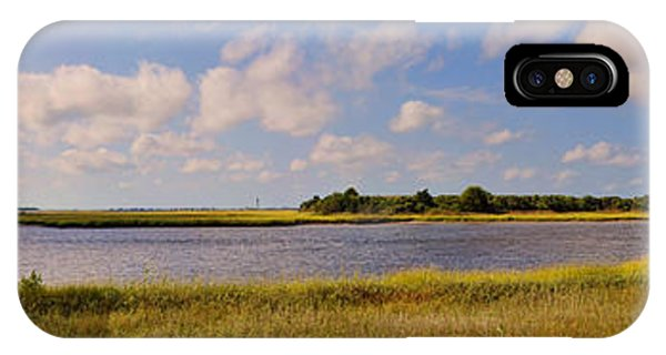 Salt Marsh Morning - Southport IPhone Case