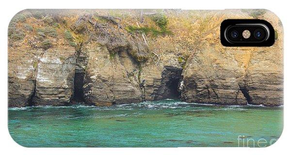 Salt Point Sea Caves IPhone Case