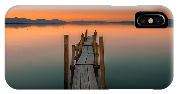 Salton Sea Dock IPhone Case