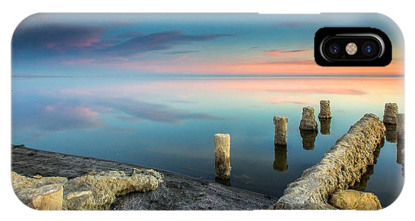 Salton Sea Reflections IPhone Case