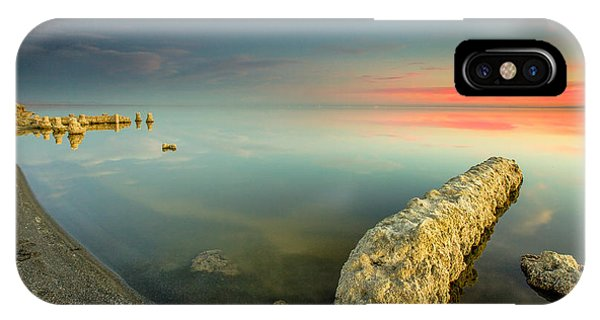 Salton Sea Sunset IPhone Case