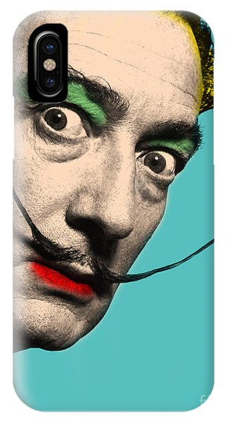 Famous People iPhone Case - Salvador Dali by Mark Ashkenazi