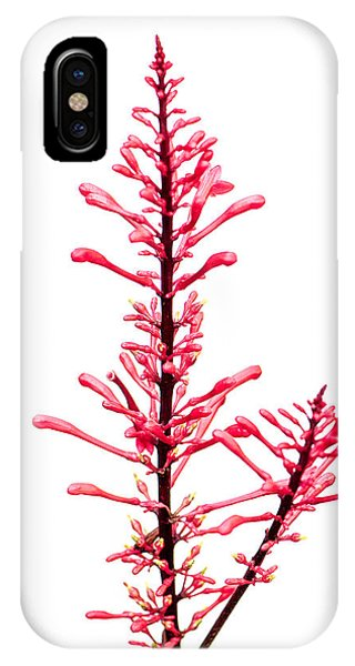 Salvia Red And Tall IPhone Case